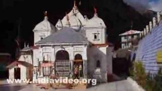 Gangotri Temple in the morning