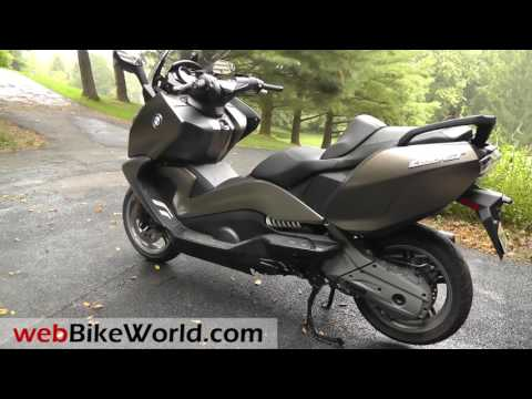 2016 BMW C 650 GT Overview