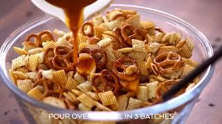 Homemade Chex Mix Recipe