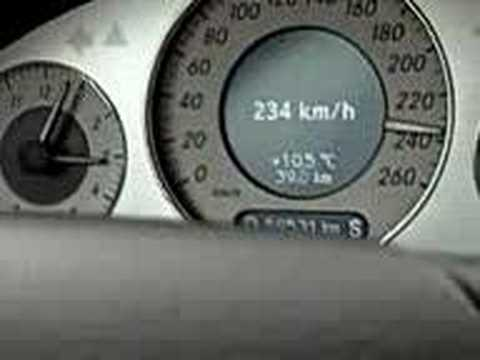 Mercedes Benz CLK 350 AMG - Highspeed & Sound