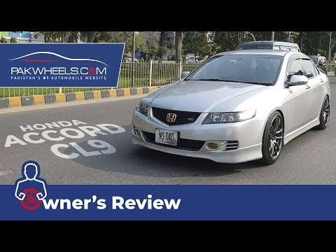 Honda Accord CL9 2006 Owner's Review