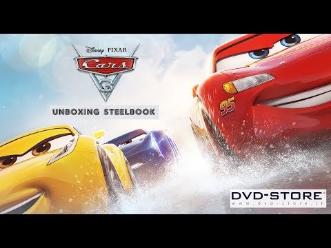 Unboxing - Cars 3 (Blu-Ray 3D + 2 Blu-Ray Disc - SteelBook) Dvd-store.it