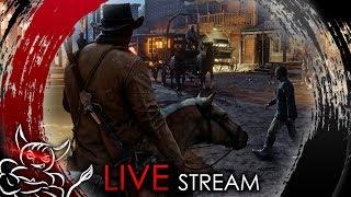 Red Dead Redemption 2 - Потому что мы БАНДА ! [Стрим] 4k PS pro