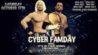 #CyberFaMday Official Intro [HD] - Coming October 17th on WWE 2K15