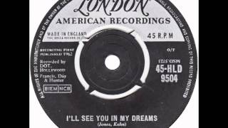 "Pat Boone – ""I'll See You In My Dreams"" (UK London) 1962"