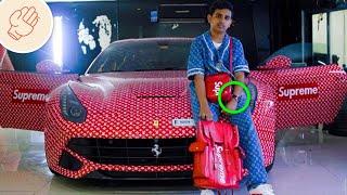 世界上極度富裕的小孩
