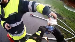preview picture of video 'Ortsfeuerwehr Koblach - Besuch der Volksschule KOBLACH - Rauchmelder und Löschdecken Vorführung'
