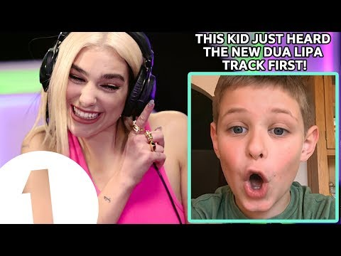 Dua Lipa - Don't Start Now |  This 8 year old kid HEARD IT FIRST!