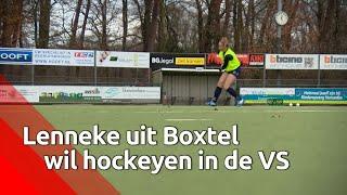Hockeytalenten komen samen in Boxtel om een 'scholarships to study in the US' te krijgen