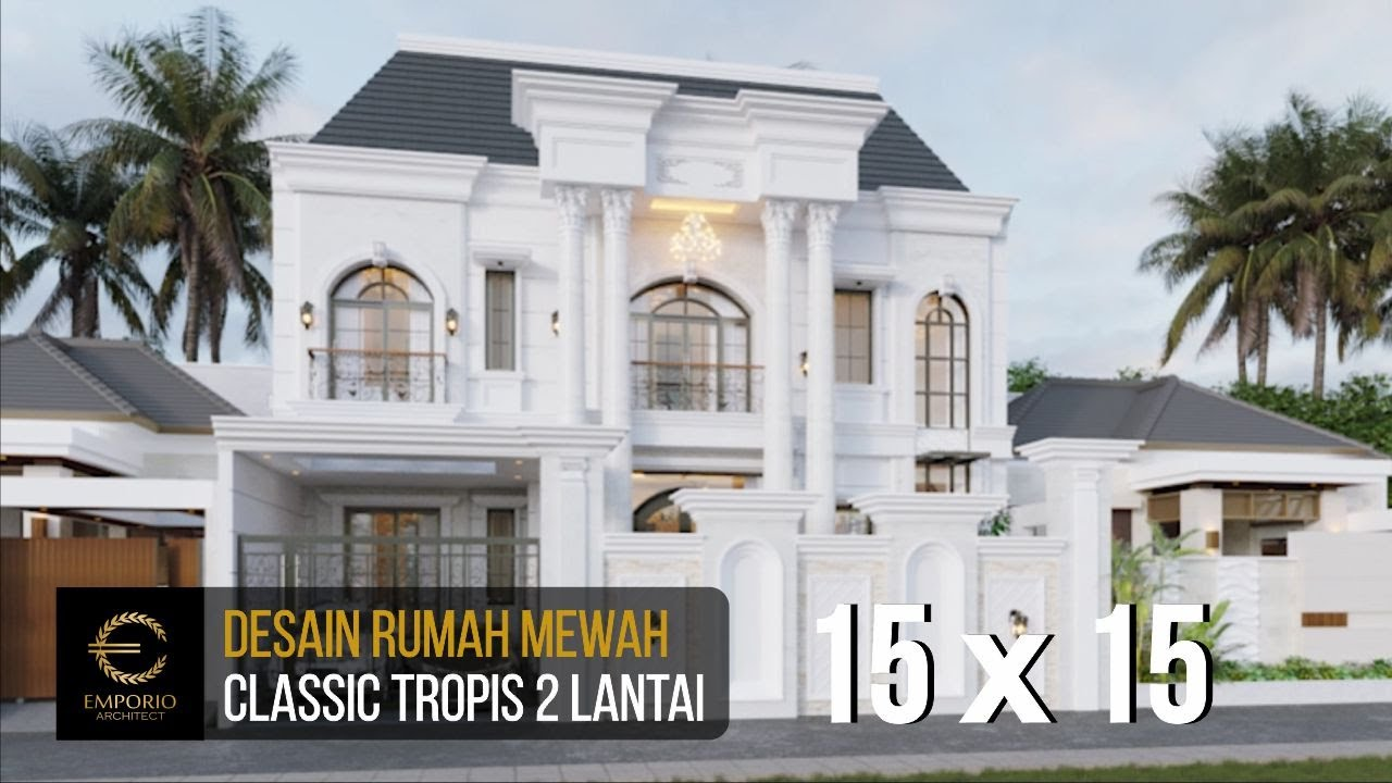 Video 3D Mrs. Alina Classic House 2 Floors Design - Badung, Bali