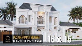 Video Desain Rumah Classic 2 Lantai Ibu Alina di  Badung, Bali