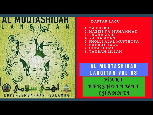 Sholawat Al Muqtashidah Langitan Full Vol 8 Album