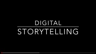Digital Storytelling By Hans Tullmann
