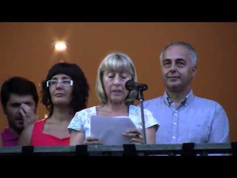 Pregó Festa Major 2013   Teresa Segura   El Pla del Penedès   26 juliol 2013