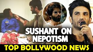 Sushant Singh Rajput On NEPOTISM In Bollywood, SUSHANT SINGH Feeding A Small Girl | Moviez Adda