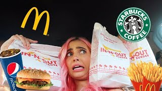 THE PERSON IN FRONT OF ME DECIDES WHAT I EAT FOR A DAY!! gone wrong