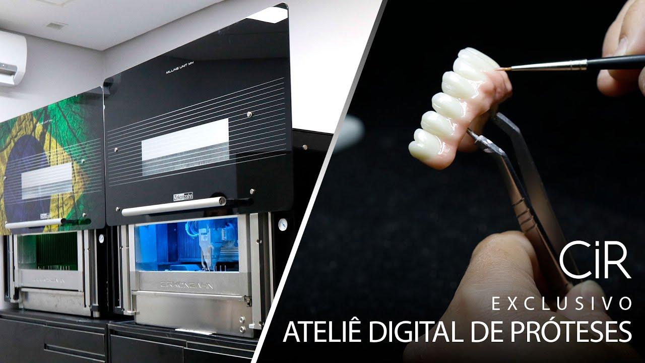 Exclusivo Ateliê Digital de Prótese