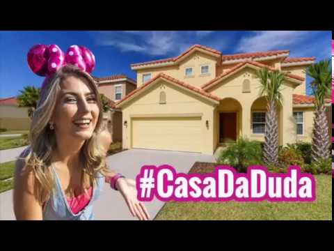 Fique de graça na #Casa da Duda em Orlando!