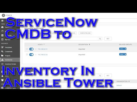 Using ServiceNow As An CMDB In Ansible Automation Platform