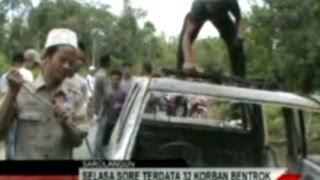 preview picture of video 'BENTROK DI SAROLANGUN, KECAMATAN LIMUN BERDUKA Sekitar Jambi JEK TV'