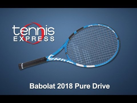 Babolat 2018 Pure Drive Tennis Racquet Review | Tennis Express