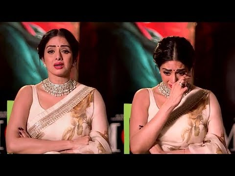EMOTIONAL Sridevi CRYING In her Last Interview Will Make You Feel SAD