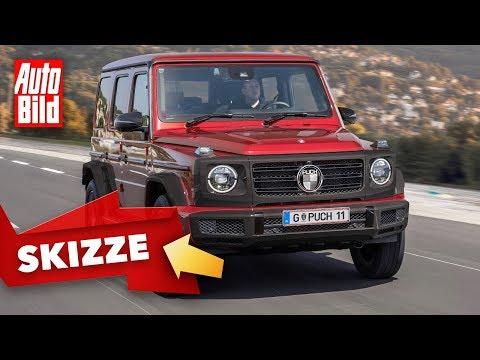 Puch G (2020): Skizze - Mercedes G-Klasse - offroad - Infos