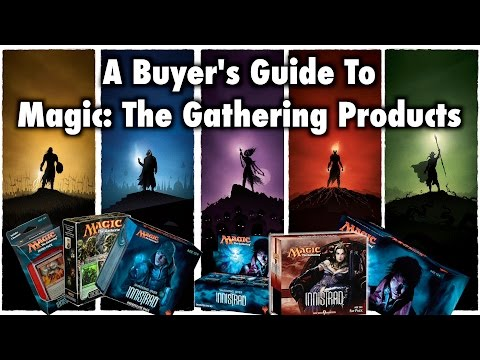 MTG – A Buyer's Guide To Magic: The Gathering Products