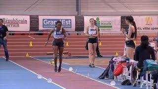 Meeting Elite de Metz 2019 : Eloyse Lesueur-Aymonin avec 6,60 m à la longueur
