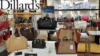 DILLARDS VINTAGE GUCCI & LOUIS VUITTON * HANDBAGS * COME WITH ME 2019
