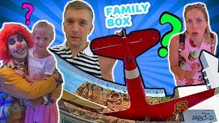 Самолет в ТОРГОВОМ ЦЕНТРЕ ПРИКОЛЬНОЕ МЕСТО наш ОБЫЧНЫЙ ВЫХОДНОЙ в Тайланде от FAMILY BOX