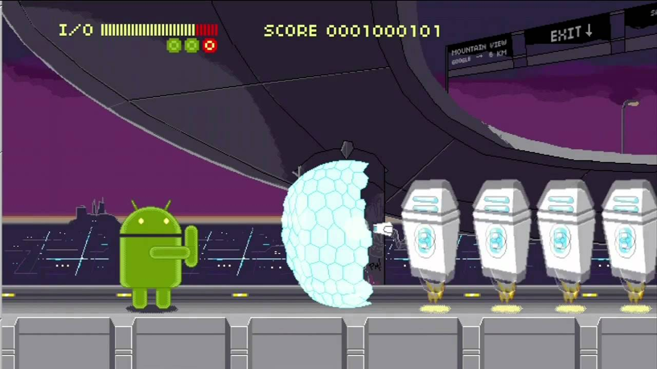 Check Out Google's Awesomely Retro Android Game From I/O 2012