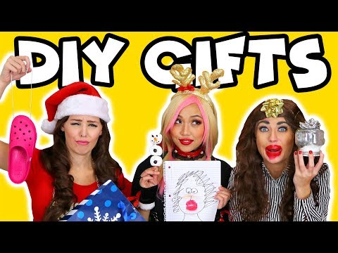 DIY YouTuber Christmas Gifts 2017 with Wengie, Rosanna and Miranda? Totally TV