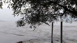 preview picture of video 'Dangerous Manas River, India, Assam, Bodoland, Manas national Park, 04/07/2018'