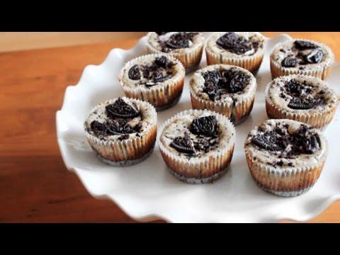 Mini Oreo Cheesecakes   SweetTreats