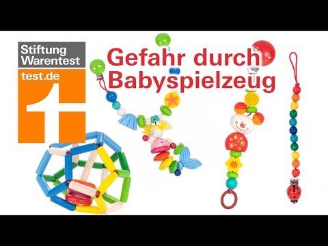 Gefahr durch Babyspielzeug: Diese 4 sind mangelhaft (Schnullerkette, Wagenkette, Greifling)