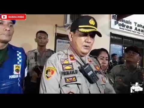 28 Orang di Kabupaten Asahan Terjaring Razia Cipta Kondusif