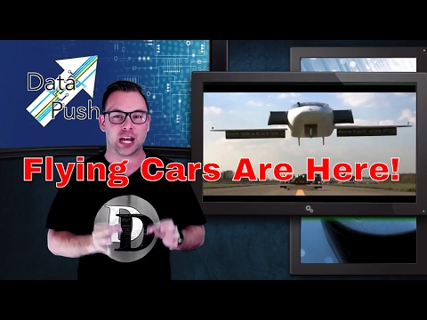 A Flying Car, A $400 Juicer, and A Travis for your Pocket - Data Push Episode 30