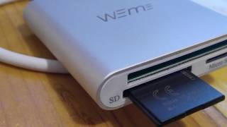 Review: Weme 3.0 USB Memory Card Reader