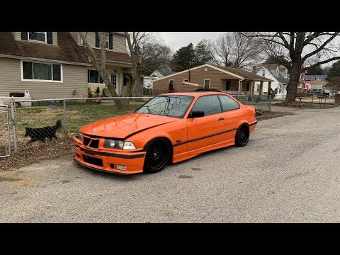I BOUGHT A WRECKED E36, AND IM GONNA REBUILD IT!