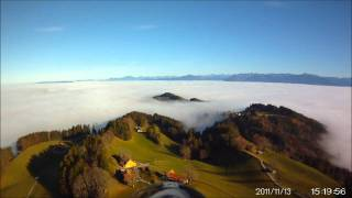 preview picture of video 'Flugvideo St. Anton/Oberegg'