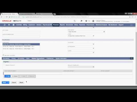 NetSuite Tutorial: How to Create & Use a Service Item - YouTube
