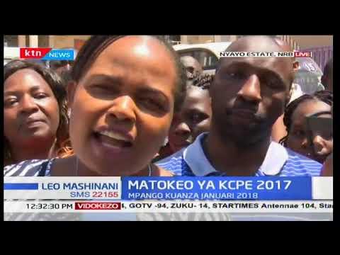 Shule ya Good Testimony Embakasi pamoja wa wakaaji wa washeherekea matokeo ya KCPE