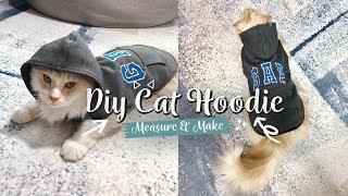 DIY Cat Hoodie   Measure And Make