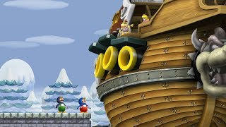 New Super Mario Bros Wii   All Castles (2 Players)