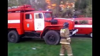 Spec. Репортаж - Пожар в 34-м училище, г. Копейск.