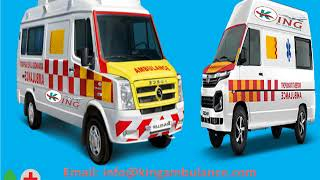 Best and Very Low Cost Ambulance in Patna, Bihar-King