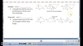 Geometry Unit 11:01 -- Perimeter & Area of Polygons