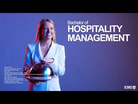Bachelor of Hospitality Management - YouTube