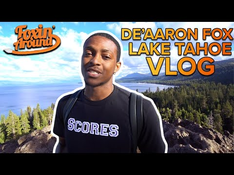 De'Aaron Fox Lake Tahoe Adventures 🦊🦊